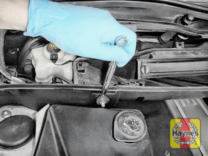 Illustration of step: Undo 2 nuts on the air intake - use a 13mm socket or spanner - step 6