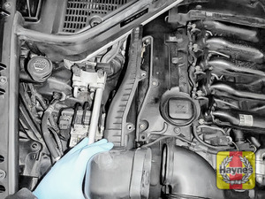 Illustration of step: Now you are able to release the air intake - step 3