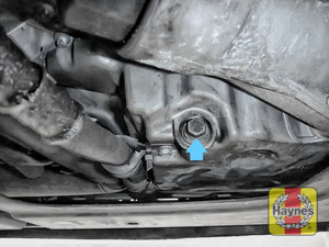 Illustration of step: Replace (new) sump plug and washer - step 6