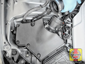 Illustration of step: Now you can release the air intake - step 4
