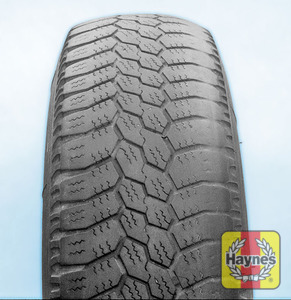 Illustration of step:  Uneven tyre wear is caused by unbalanced wheels, worn/broken suspension parts, or incorrect wheel alignment If you need to change a wheel, click below  - step 5