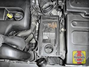 Illustration of step: Check air filter box for debris - step 12