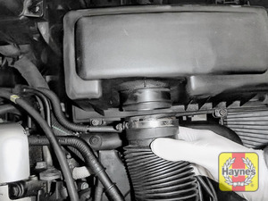Illustration of step: Now release the air intake - step 3
