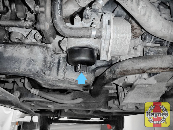 how to change oil filter 2006 mazda 6