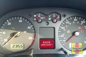 Illustration of step: If a fault occurs, some of the vehicle systems will generate and store a fault code - step 1