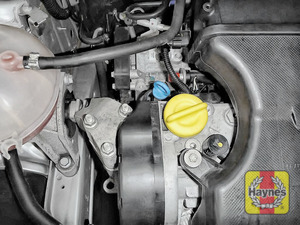 Illustration of step: Don't forget to replace the dipstick and oil filler cap securely - step 8