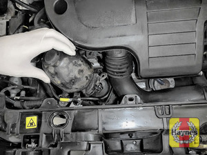 Illustration of step: Remove oil filter cover (if fitted) - step 3