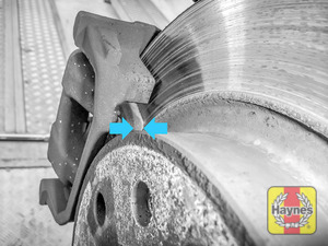 Illustration of step: Locate rear brake pads - step 9