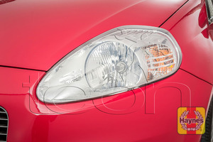 Illustration of step: Check front lights, main, dipped beam and indicators - step 2