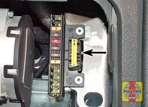 Illustration of step: Remove the driver's-side lower fascia panel to access the diagnostic socket - step 2