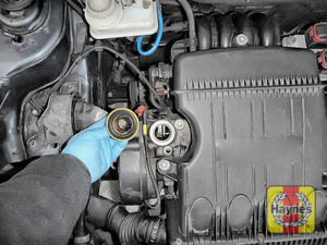 Illustration of step: You are now ready to refill the engine with fresh oil - step 5