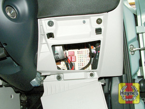Illustration of step: Unclip the panel from the driver's side of the fascia to access the main fusebox - step 1