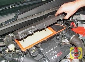 Illustration of step:   - 1.4 litre engine - step 4