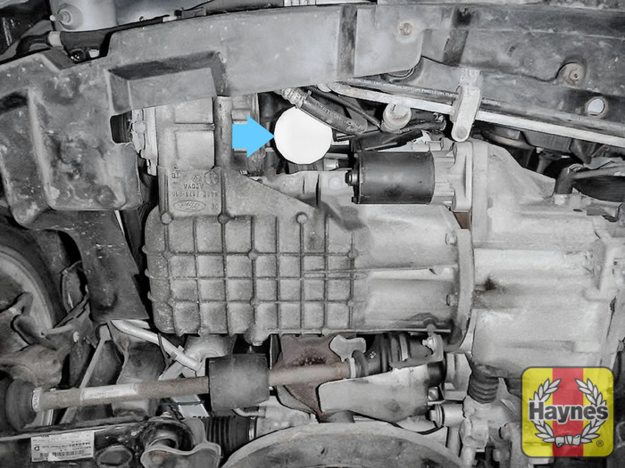 Illustration Of Step The Oil Filter Is Accessed From Underneath The Vehicle Step