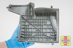 Illustration of step: View of air filter cover - step 4