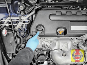 Illustration of step: Always replace the dipstick and oil filler cap - step 9
