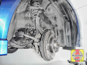 Illustration of step: Now quickly check all the brake pipes for condition, check for any leaks - step 8