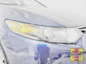 Illustration of step: Check the front lights, main, dipped beam and indicators - step 2