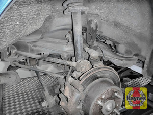 Illustration of step: Take a good look around the brake system and the suspension arm to check for any leaks - step 13