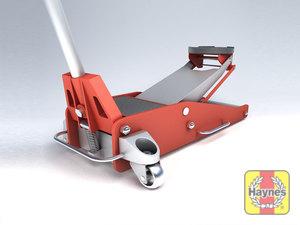 Illustration of step: Always use a hydraulic trolley jack - step 4