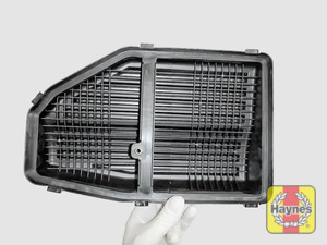 Illustration of step: View of air filter cover - step 5