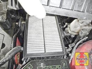 Illustration of step: Carefully lift away the air filter box - step 3