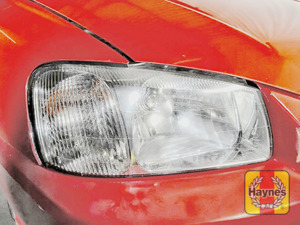 Illustration of step: Check the front lights: main, dipped beam and indicators - step 1