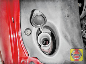 Illustration of step: Open the filler cap - step 2