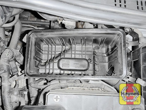 Illustration of step: Check the air filter box for debris - step 8