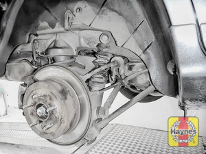 Illustration of step: Now check the condition of the rear brake discs - step 10