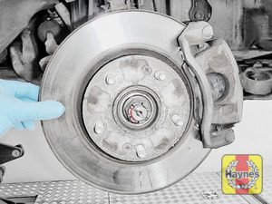 Illustration of step: Check condition of brake discs - step 15