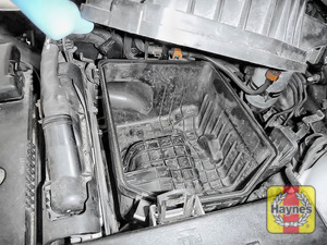 Illustration of step: Check the air filter box for debris - step 6