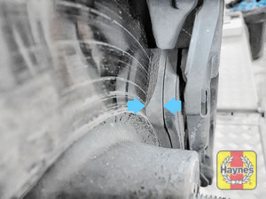 Illustration of step: Now locate the brake pads - step 5