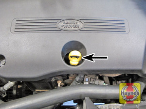 Illustration of step:  Withdraw the engine oil level dipstick  - The correct oil - step 11
