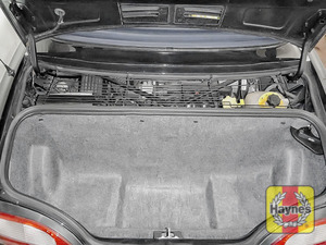 Illustration of step: To access the engine compartment you will need to remove the interior moulding and the engine cover - step 3