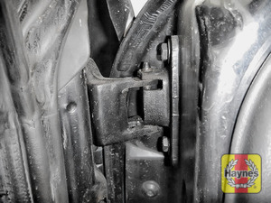Illustration of step: Why not lubricate your hinges? Use a can of lithium grease, spray a very small amount onto each door hinge and don't forget the bonnet catch  - step 3