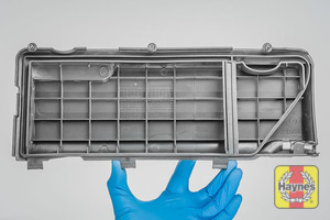 Illustration of step: View of the air filter cover - step 4