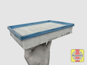 Illustration of step: Clean off any debris on the surface of the filter - step 14