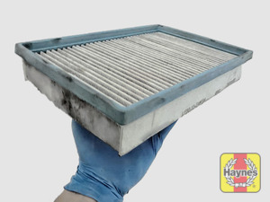 Illustration of step: Clean off any debris on the surface of the filter - step 4