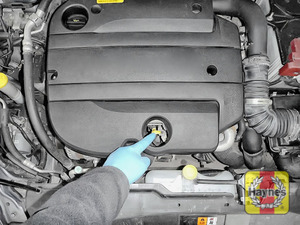 Illustration of step: Always replace the dipstick and oil filler cap - step 8