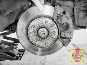 Illustration of step: Check condition of brake discs - step 3