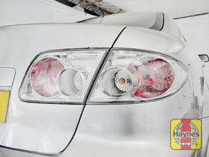 Illustration of step: Check rear light cluster, brake, fog and indicators - step 2