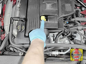 Illustration of step: Do not forget to replace the dipstick and oil filler cap securely - step 9