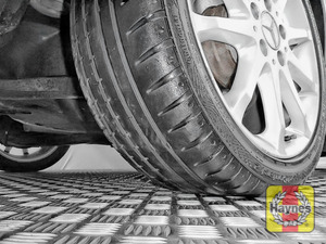 Illustration of step: Take a quick look at the tyre treads and sidewall condition - step 2