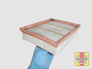 Illustration of step: Clean off any debris on the surface of the filter - step 6