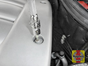 Illustration of step: Use a Torx-30 socket to undo the retaining fixtures and remove the cover - step 2
