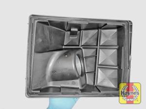 Illustration of step: Ensure the lid is clean, free of dust and debris - step 6