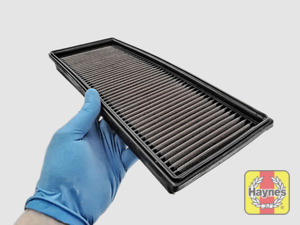 Illustration of step: Clean off any debris on the surface of the filter - step 11