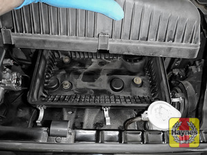 Illustration of step: Check air filter box for debris - step 6
