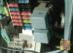 Illustration of step: The fuses are located behind a plastic cover on the driver's side of the fascia  - step 1